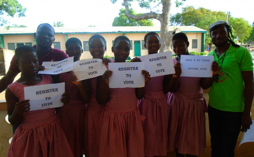 Students at St Francis Girls Senior High School